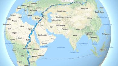 Photo of Самый длинный пешеходный маршрут